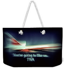 A Flight From The Past Weekender Tote Bag