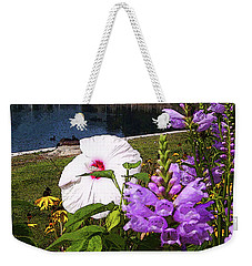 A Flower Blossoms Weekender Tote Bag