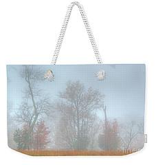 A Foggy Morning Weekender Tote Bag