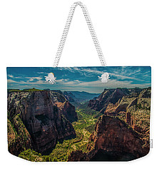 A Forever View Weekender Tote Bag