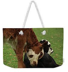 A Friend Indeed Weekender Tote Bag by Kim Henderson