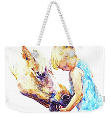 A Friendly Bribe Weekender Tote Bag