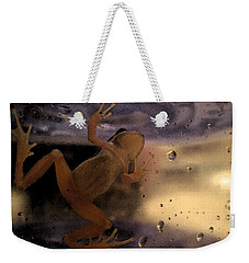 A Frogs World Weekender Tote Bag