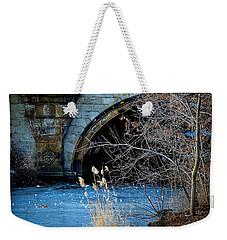 A Frozen Corner In Central Park Weekender Tote Bag