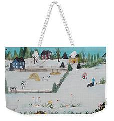 A Gaggle Of Geese Weekender Tote Bag