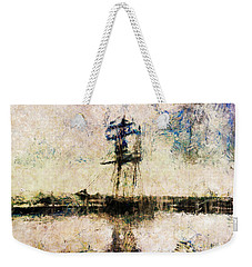 Weekender Tote Bag featuring the photograph A Gallant Ship by Claire Bull
