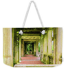 A Garden House Entryway. Weekender Tote Bag