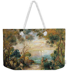 A Garden In Sorrento Weekender Tote Bag by Pierre Auguste Renoir