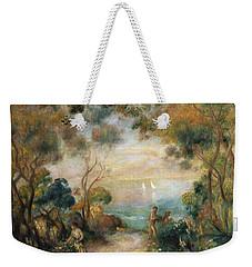 A Garden In Sorrento Weekender Tote Bag by Pierre Auguste Renoir