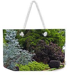 A Garden Walk Weekender Tote Bag