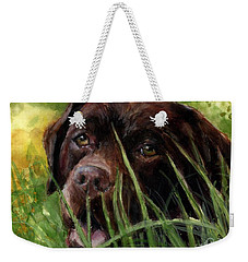 A Gardener's Friend Weekender Tote Bag by Molly Poole
