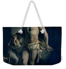 A Gaul And His Daughter Imprisoned In Rome Weekender Tote Bag
