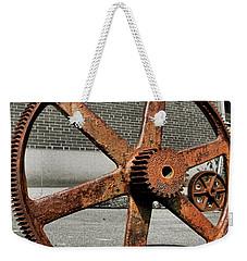 A Gear In A Gear Weekender Tote Bag