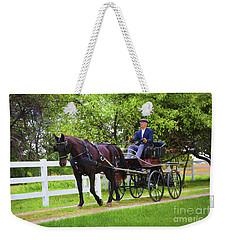 A Gentleman's Sunday Ride Weekender Tote Bag