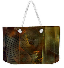 A Ghost In The Machine Weekender Tote Bag by NirvanaBlues