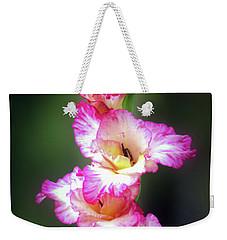 A Gladiolus Weekender Tote Bag