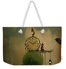 A Glitch In Time Weekender Tote Bag