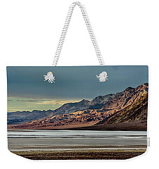 A Glow On The Amargosa Range Weekender Tote Bag