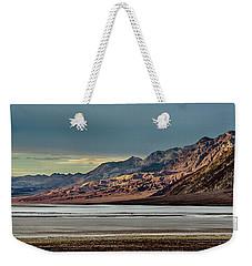 A Glow On The Amargosa Range Weekender Tote Bag