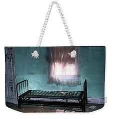 A Glow Where She Slept Weekender Tote Bag