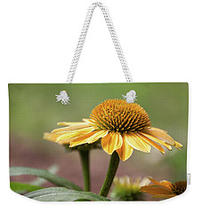A Golden Echinacea -  Weekender Tote Bag