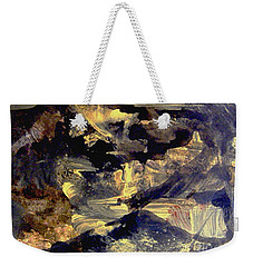 Weekender Tote Bag featuring the painting A Golden Moment by Nancy Kane Chapman