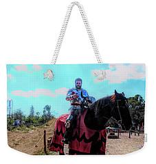 A Good Knight Weekender Tote Bag