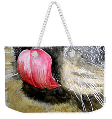 A Good Lick  Weekender Tote Bag