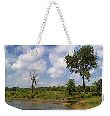 A Good Place To Fish Weekender Tote Bag