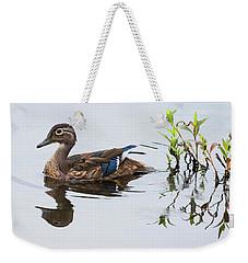 A Graceful Swim Weekender Tote Bag