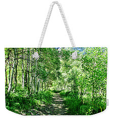 A Green Dream Weekender Tote Bag by Marilyn Diaz
