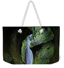 A Green Grotto Weekender Tote Bag