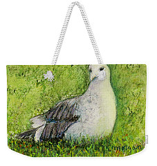 A Gull On The Grass Weekender Tote Bag