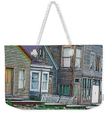 A Haimish Abode From A Bygone Era Weekender Tote Bag