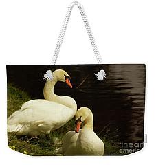 A Handsome Pair Weekender Tote Bag