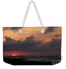 A Hatteras Sunrise Weekender Tote Bag