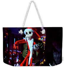 A Haunted Christmas Weekender Tote Bag