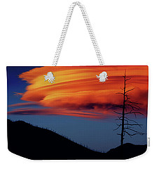 A Haunting Sunset Weekender Tote Bag