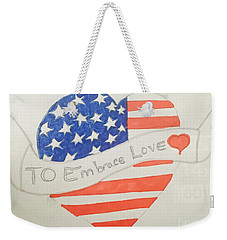A Heart Of Love  Weekender Tote Bag