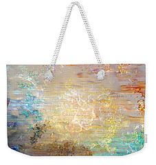 A Heart So Big - Custom Version 4 - Abstract Art Weekender Tote Bag by Jaison Cianelli