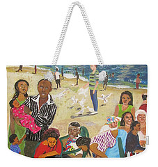A Heavenly Day - Lumley Beach - Sierra Leone Weekender Tote Bag