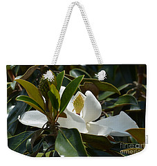 Weekender Tote Bag featuring the photograph A Hidden Beauty by Maria Urso