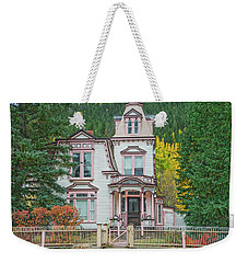 A Historical Treasure Constructed In 1870, Maxwell House, Georgetown, Colorado  Weekender Tote Bag