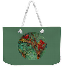A Home In The Woods Weekender Tote Bag by Mary Wolf