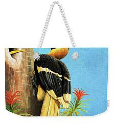 A Hornbill Weekender Tote Bag
