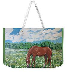 A Horse Named Dante Weekender Tote Bag