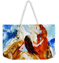 A Hula For You Weekender Tote Bag by Marionette Taboniar