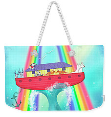 A Is For Ark Weekender Tote Bag