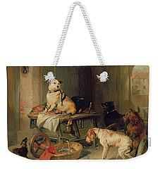 A Jack In Office Weekender Tote Bag