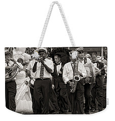 A Jazz Wedding In New Orleans Weekender Tote Bag